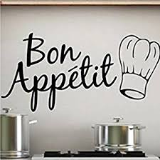 sticker pour cuisine sticker bay sticker mural pour la cuisine inscription bon appé