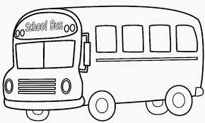coloring extraordinary bus color coloring