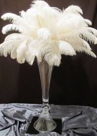 ostrich feather centerpieces feather centerpieces ags event creations