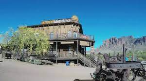 Apache Junction Flowers - old west town saloon apache junction az stock video footage