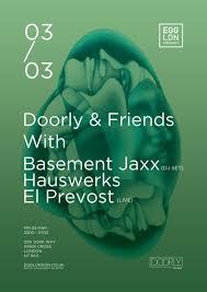 ra egg presents doorly u0026 friends with basement jaxx dj set