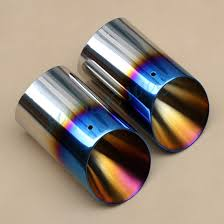 Ford Escape 2016 - set of 2 muffler exhaust tip for ford escape kuga 2013 2016