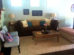 lovely brown teal and red living room in collection also images