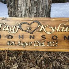 wedding plaques personalized best wood wedding plaques products on wanelo