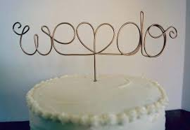 wire cake toppers wire cake toppers wedding topper custom we do australia