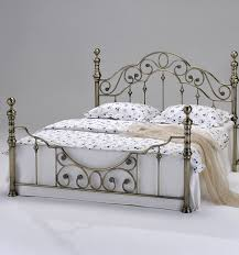 brass bed frame bedroom furniture