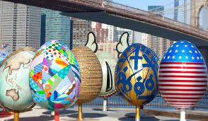 big easter eggs the best of the faberge big egg hunt artist easter eggs