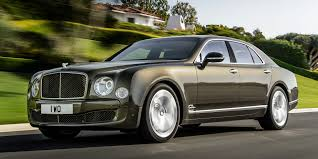 2017 bentley mulsanne vehicles on display chicago auto show