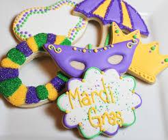 mardi gras cookies baking in heels mardi gras