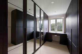 dark wood modern fitted wardrobes bespoke furniture fitted