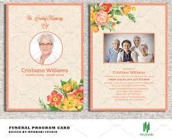 sle funeral programs funeral announcement or invitation invitation templates