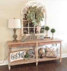 Entry Console Table Entry Table Decor Custom Decor