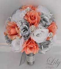 silk wedding flower packages 1000 ideas about artificial wedding bouquets on