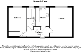Gurdwara Floor Plan by 1 Bedroom Flat For Sale In Gravesham Court Clarence Row