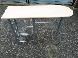 Nail Bar Table Small Lightwood Metal Framed Nail Bar Table Delivery Available