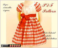 olivia peasant dress pattern free mother daughter apron pattern