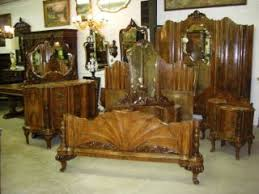 Antique Walnut Bedroom Furniture Furniture Beds Bedroom Sets 1800 1899 Antiques Browser