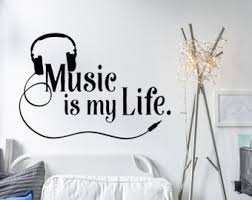 Kids Room Wall Decor Stickers by Music Wall Decal Etsy