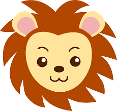 lion clipart cute animal pencil and in color lion clipart cute