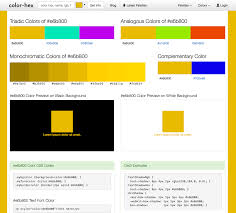 Hex Color Yellow by Color Hex Page For Web Colors U0026 Palettes Legal Design Toolbox