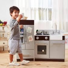 cuisine enfant garcon teamson jeu de cuisine enfant en bois dinette grise fille garçon td