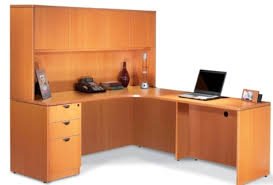 L Shaped Office Desk With Hutch White  Home Design Ideas