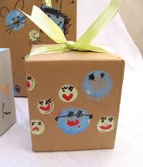 purim boxes recycle cardboard boxes kids can make adorable gift packages