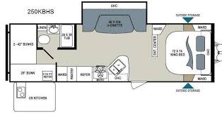 Triple Bunk Travel Trailer Floor Plans | rv floor plans with bunk beds google search this gypsy life