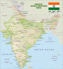 Map Of Punjab India by Map Of Unesco World Heritage India Map In The Atlas Of The World