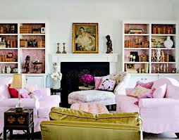 Best Pinkcoral Images On Pinterest Living Spaces Living - Pink living room design