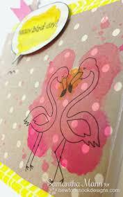 91 best flirty flamingos summer stamp set images on pinterest