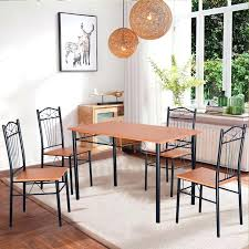 metal dining tables and chairs bed metal dining chair sets