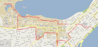 Boston Marathon Route Map by Runtri Ironman Wisconsin Bike And Run Course Maps