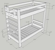 Bunk Bed Plans Pdf 33 Bed Size Woodwork Bunk Bed Dimensions Plans Pdf Plans