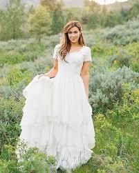 utah rental wedding dress modest lace gowns by pamela