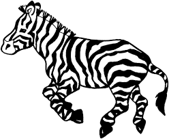 free coloring pages of baby zebras with zebra coloring page