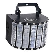lalucenatz dj lights with 30w multicolor led beams by