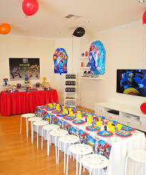transformers party decorations transformers birthday party cool theme tips ideas party affairs
