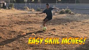 easy soccer moves to beat a defender dribbling skills for