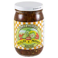 packo pickles tony packos pickles peppers relish 16 oz meijer