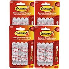 command wire hooks value pack small white 9 hooks
