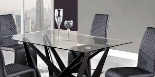Global Furniture Dining Room Sets Dining Table In Black By Global W Optional D6671 Chairs