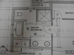 critique master bath addition layout