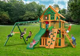 lowest price gorilla chateau clubhouse treehouse playset free shipping