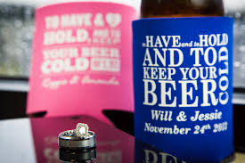 koozies for weddings accessories magnetic can koozie koozies for weddings
