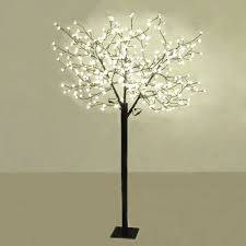 interior tree lamps floor displaying with modern m led bonsai