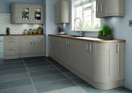 stone grey hand painted shaker kitchens