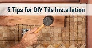 Installing Ceramic Wall Tile 5 Tips For Diy Tile Installation Avenue Ceramics