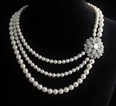 ladies necklace designs images Beautiful bridal wedding pearl necklace design jpg jpeg image jpg