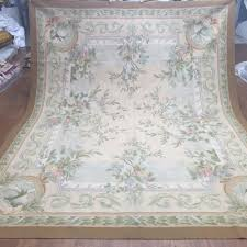 Chinese Aubusson Rugs Yilong 8 U0027x10 U0027 Hand Knotted Woven French Aubusson Carpets Painting